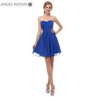 Angel Novias Royal Blue Homecoming Dress 2018 Short Party Dress Graduation 2018 Vestidos De Festa Curto