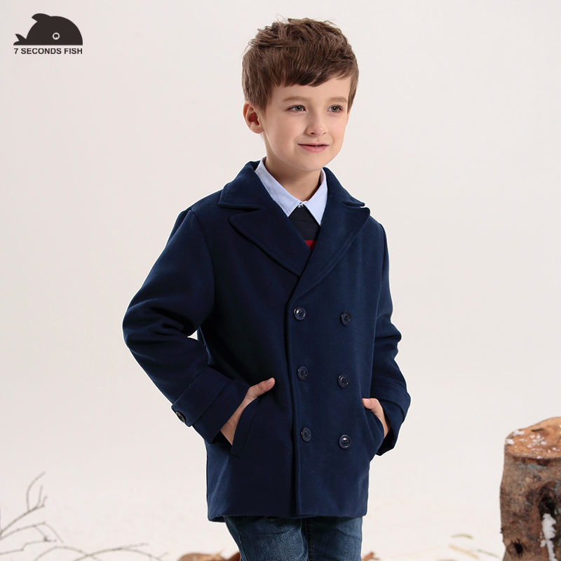 Boys Winter Coats Thick Cotton-padded woollen Jackets kids Autumn & winter Outerwear Kids jacket,boy jacket,High quality 5pc lot maintenance tank chip for epson 7890 9890 7908 9890 7900 9900 7910 9910