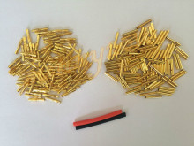 100pairs lot 2 0mm 2mm RC Gold Bullet Connector Battery ESC Motor Banana Plug with 5M