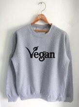 Cute women's VEGAN sweatshirt / 2 Colors