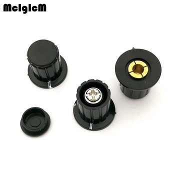 black knob button cap is suitable for high quality WXD3-13-2W - turn around special potentiometer knob - DISCOUNT ITEM  0% OFF All Category