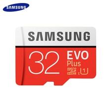 SAMSUNG класс EVO+ карта памяти оригинальная Micro SD карта SDHC 32 Гб класс 10 SDXC 64 Гб 128 ГБ C10 UHS TF карты транс флэш Microsd