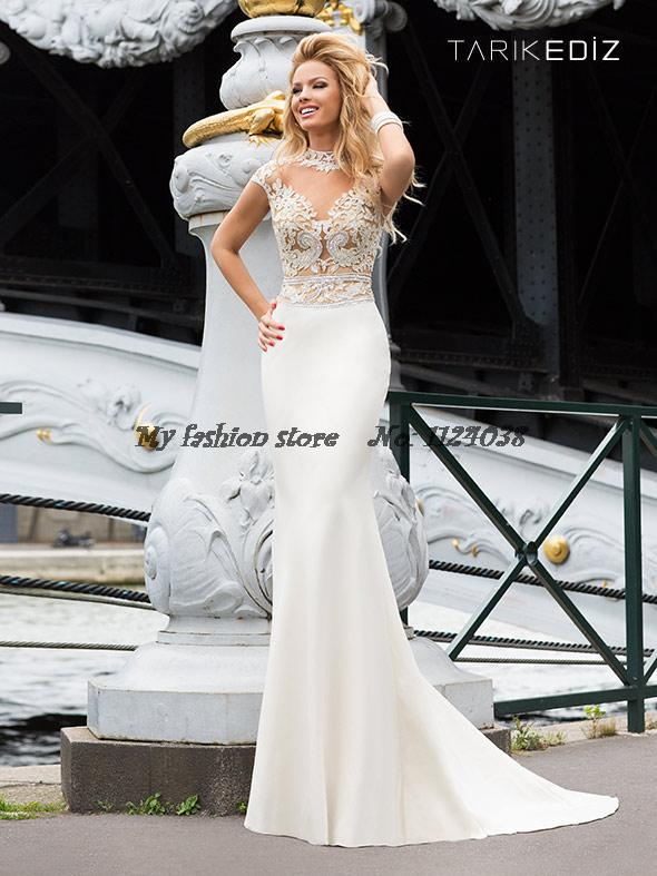 Aliexpress.com : Buy 2014 New Fashion Tarik Ediz Prom Dress Long ...