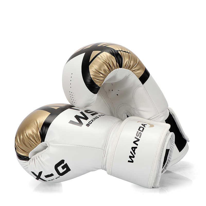 Kualitas TINGGI Dewasa Tinju Sarung Tangan MMA Muay Thai Boxe De Luva Equipments8 10 12 OZ pink tinju Mitts Sanda sarung tangan untuk wanita