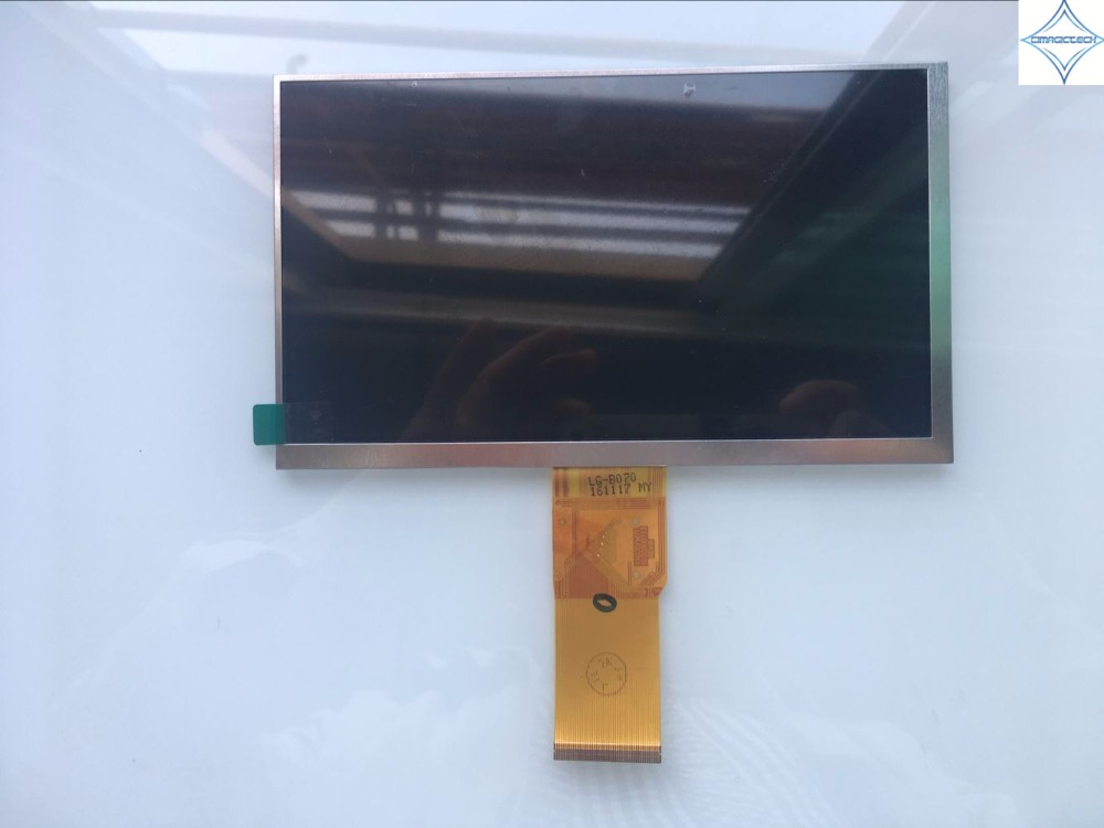 7'' new tablet lcd screen display panel 50pin 800*480 KR070pm7t 1030300713 for Mei Qi MiKi6910 50pin TFT 163*97mm same code 11 0 inch lcd display screen panel lq110y3dg01 800 480