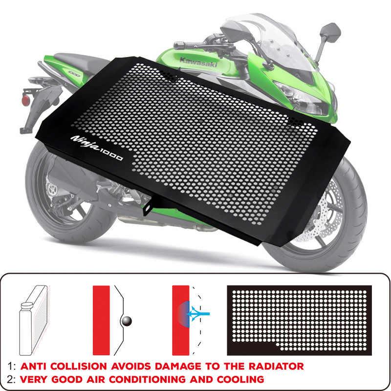 Z750 Z800 Z1000 Z1000SX Rejillas Frontales de radiador Guarda Protectora para Kawasaki Z750 2007-2012 Z800 2013-2017 Z1000 2007-2018 Z1000SX Ninja 1000 2010-2018 Versys 1000 2012-2018