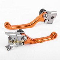 Free Shipping One Pair Top Quality CNC Pivot Brake Clutch Levers Set For KTM 530XC W