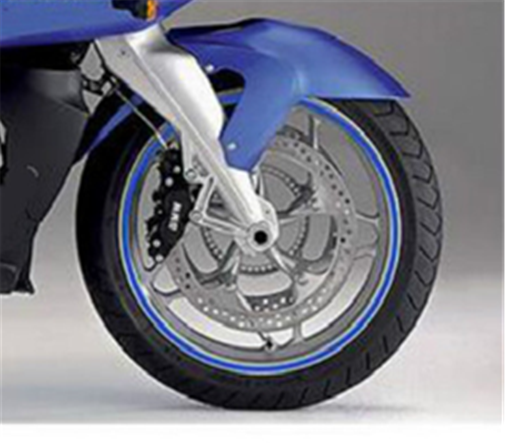 Rojo Reflectante Motocicleta Superbike Pegatinas Calcoman/ías Pack Impermeable Honda Varadero