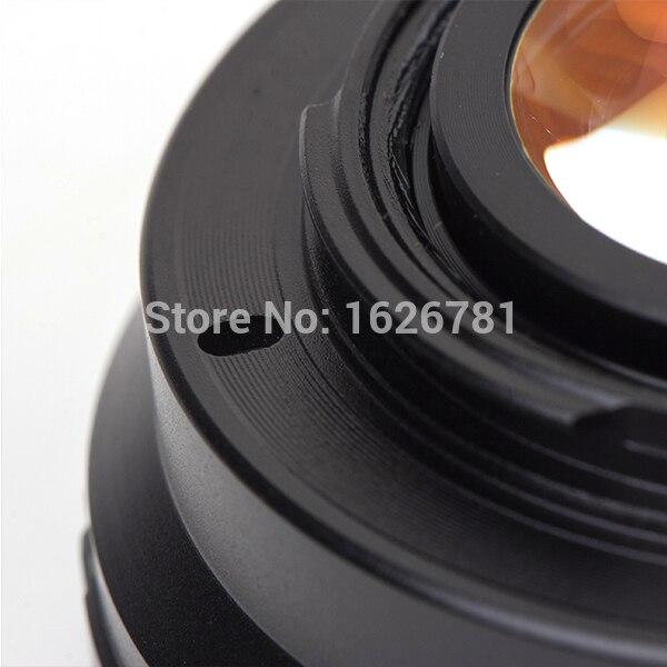 Speed Booster Adaptador de lente reductor focal para la lente - Cámara y foto - foto 5