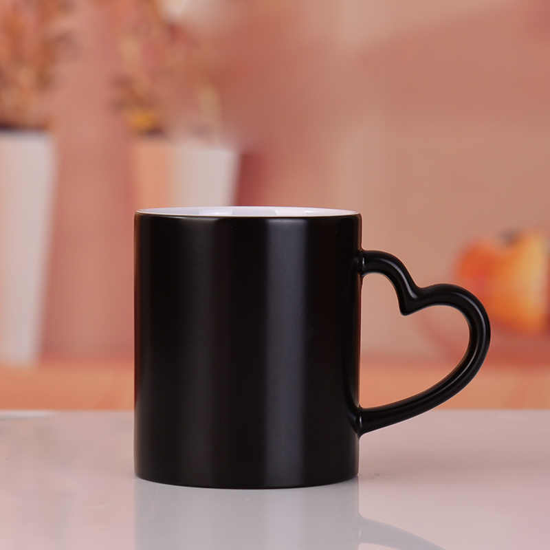 0f162ef6b89 Drop shipping DIY Photo Magic Color Changing Mug,custom your photo on Tea  cup,unique Ceramic Coffee Cup best gift for friends