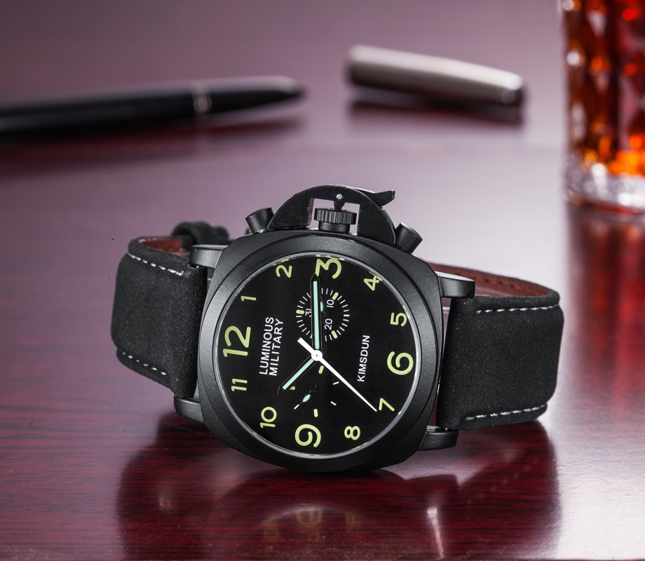 Natural impermeable Relojes Hombre 2