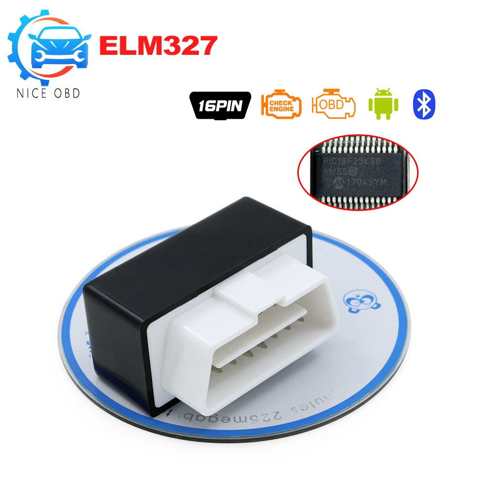 Sporting Super Mini Elm 327 Bluetooth Obd2 Elm327 With Switch Obd Ii Can-bus Diagnostic Tool Pic Chip Scanner Works On Android/windows Automobiles & Motorcycles Car Repair Tools