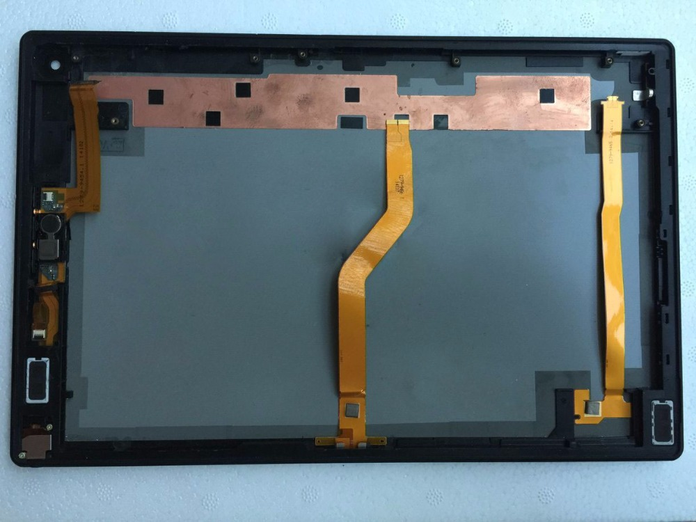 For sony Xperia Tablet Z2 SGP511 SGP512 SGP521 housing back cover case REAR CASING Housing repair part with Flex Cable+speaker bottom cover for microsoft new surface pro 5 housing back cover case rear casing housing replacement repair part