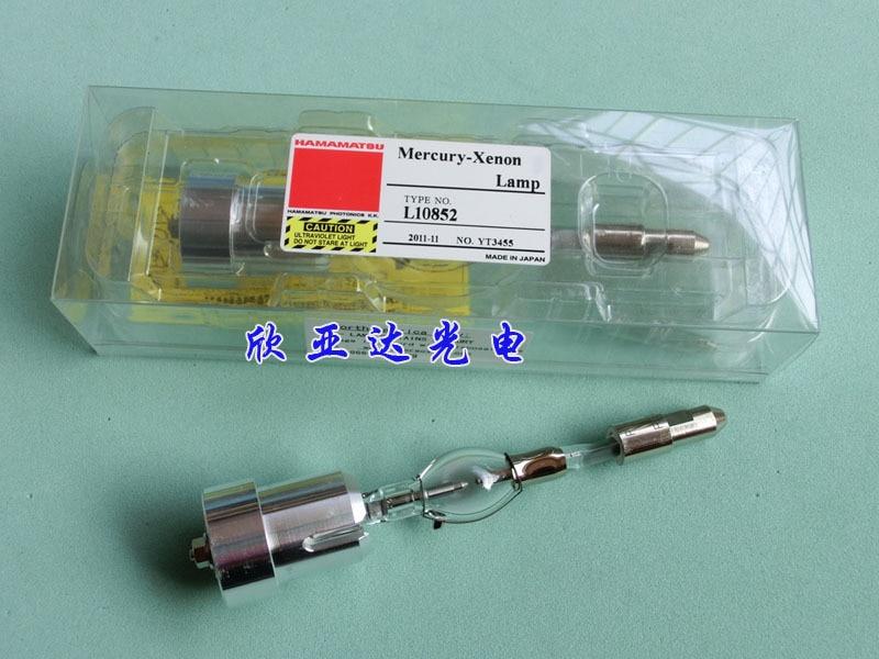 HAMAMATSU Mercury-Xenon Lamp Type NO. L10852 Made in Japan mercury 225 l optimax