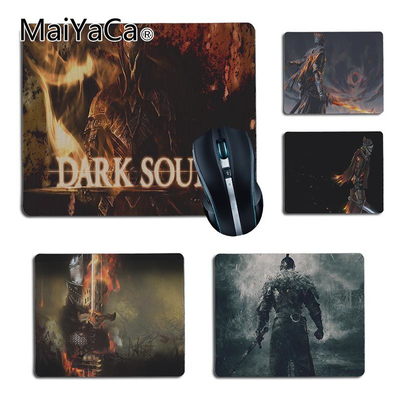 MaiYaCa Vintage Cool Dark Souls gamer play mats Rubber Mouse pad Size for 25X29cm 18x22cm Gaming Mousepads
