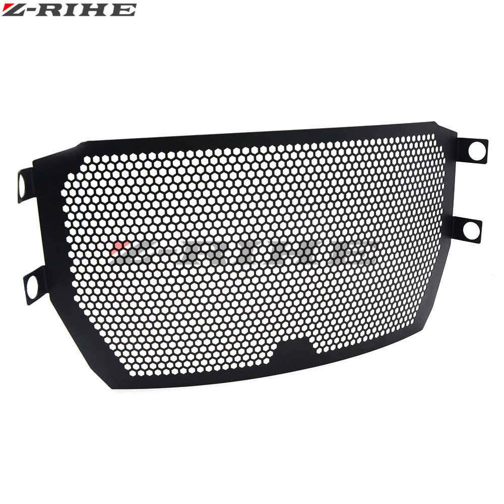 Motorcycle Radiator Guard Protector Grille Grill Cover Stainless Steel Radiator Grill Cover For Ducati Monster 821 2014-2016 цена