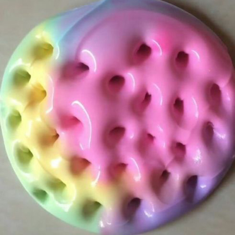 Color fairy tale cotton slime Slyme PUFF SLIME DIY stamp color clay decompression toys popular style