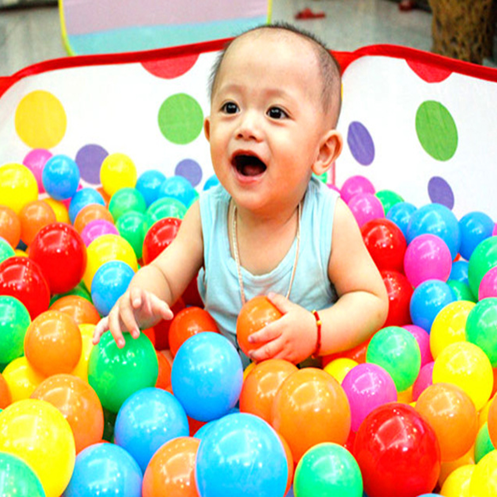 Liyuan Foldable Kids Ball Pit Playpen Ocean Ball Tent Pool Toddlers Children Baby Toy Game Play House(Balls not Included)