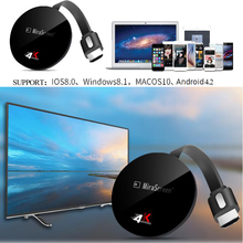 TV Stick Mirascreen G7 Plus 2.4/5G 4K High Speed WiFi Display TV Dongle Support Miracast Airplay DLNA for IOS Android Windows in stock measy a2w 4k tv dongle dual band 2 4ghz 5ghz wifi miracast airplay dlna tv stick support 4k ezcast wifi display dongle