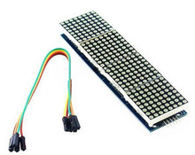 Hot sale MAX7219 Dot Matrix Module For arduino Microcontroller 4 In One Display with 5P Line