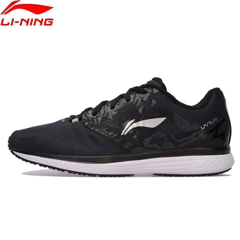 Li-Ning Скорость Star Для мужчин кроссовки легкие дышащие подкладка кроссовки подушка комфорт спортивная обувь ARHM021 XYP544