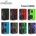 Originele Vandy Vape Pulse X Mod 90 W Pulse X BF Doos Mod Vape Met 8 ml Squonk Fles Elektronische sigaret Vape VS Pulse 80 W Mod
