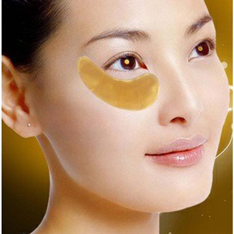 10Pairs Eye Mask Gold Crystal collagen Eye Masks Anti-Puffiness Dark Circles Anti Aging Moisturizing Eye Care 3