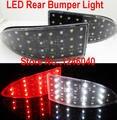 Lente de cristal LED Rear Bumper reflector luz de Freno Luz de freno luz de reserva inversa para LEXUS IS200 IS300 IS250 IS350 06-13