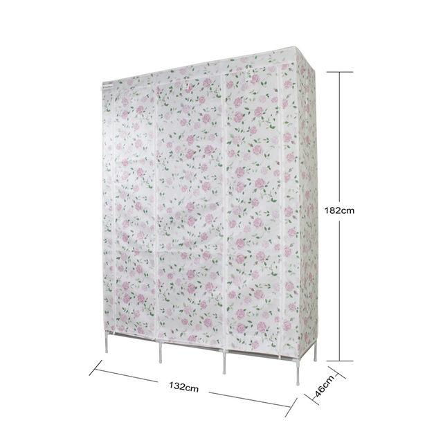 Tienda Online Finether doble modular enmarcado metal Telas armario ...
