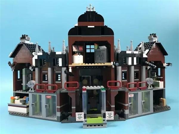 1628Pcs Genuine Batman Movie Series The Arkham`s Lunatic Asylum Set Building Blocks Bricks Toys for Children COMAPTIBLE LEPINS schwarzkopf лак для волос сильной фиксации schwarzkopf osis freeze 1918571 500 мл