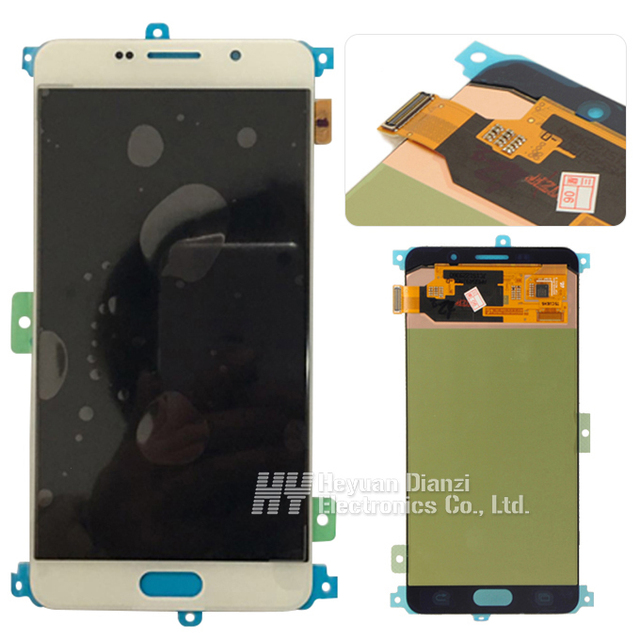 100% test good working Original For Samsung Galaxy a7 A710f A710P A710S LCD Display Touch screen Digitizer Assembly FREESHIPPING
