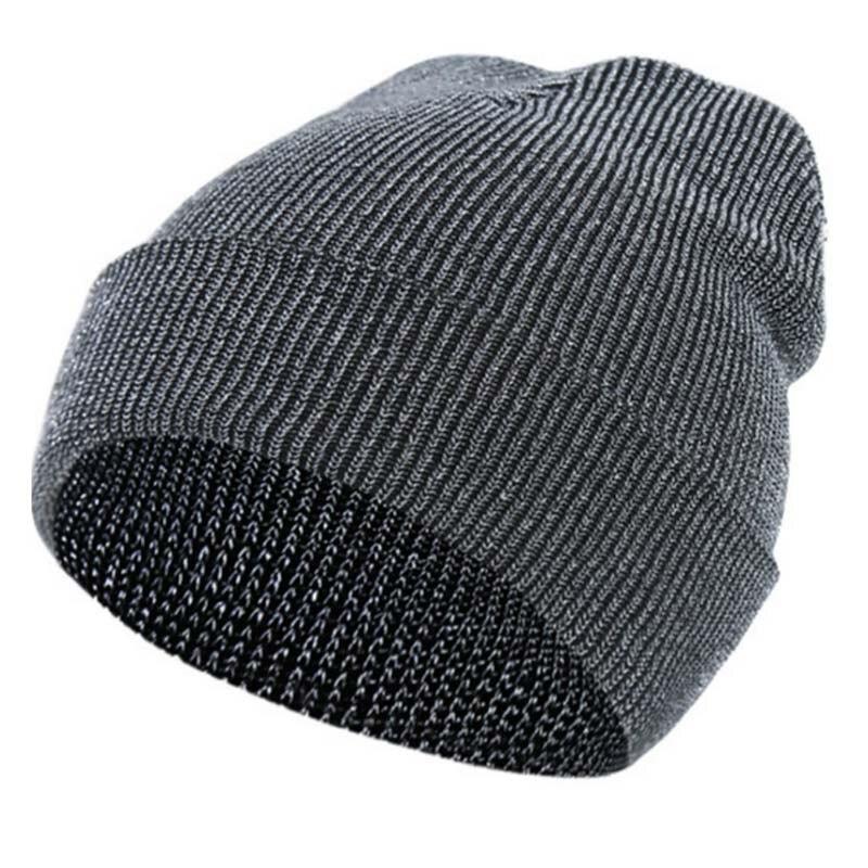 1 Pcs Knitting Cap Hat Warm Elasticity Vintage Gift for Women Men Outdoor Skiing JL