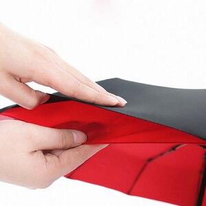 Image 3 - Paraguas de cierre automático 12K reforzado con doble capa a prueba de viento paraguas plegable automático paraguas negro grande para negocios