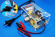 Adjustable tegangan stabil power supply Kit Elektronik DIY kit Solder Kit rc tank daya(China)