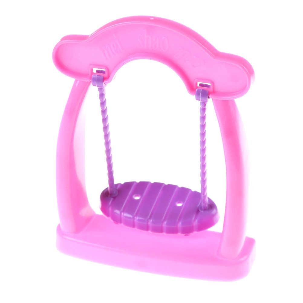 الأميرة سوينغ كرسي طويل الساق غسل مصباح آلة هزاز مهد السرير التلفزيون 1:12 دمية مصغرة غرفة المطبخ ديكور دمى الملحقات