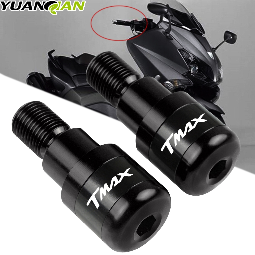 For YAMAHA TMAX 500 530 T-MAX500 T-MAX530 2015-2016 Handlebar Grips Motorcycle Accessories Bar Ends Hand Grip Handlebar End Caps