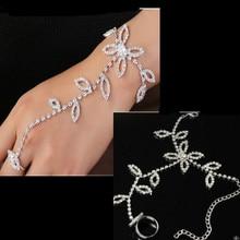 America and Europe pop atmospheric leaves shape fashion temperament lady bracelet