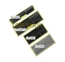 Per Game boy advance Etichetta Adesiva Per GameBoy GBA GBC GBP GBA SP Console Posteriore Tag