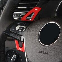 2018 Tiguan adesivi per auto per Volkswagen Tiguan MK2 interni modifica cambio volante paddle accessori