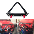 Высокое Качество 1:10 RC Гусеничный Металла Передний Бампер с Эвакуатор Серьга для 1/10 Осевая SCX10 RC4WD D90