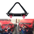 High Quality 1:10 RC Crawler Metal Front Bumper with Tow Shackle for 1/10 Axial SCX10 RC4WD D90
