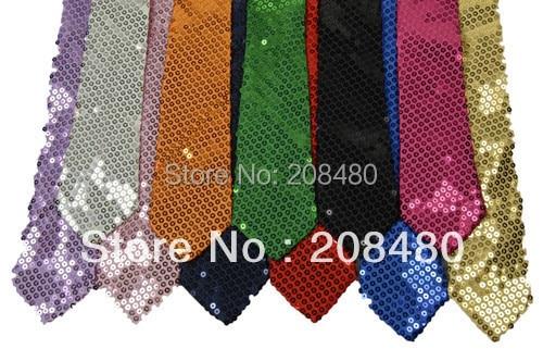 Ανδρικό Unisex Sequin Γραβάτες 12 Χρώματα - Αξεσουάρ ένδυσης - Φωτογραφία 1