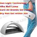Новые 48 Вт Ногтей Света LED, вылечить Все Бренды LED Гель/УФ-Гель/Гель Лак Для Ногтей, Perfect Маникюр Nail Art Оборудование Машины