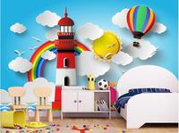 3d Wallpaper Custom Mural Non Woven 3d Room Wallpaper Cartoon 3 D Children Room Background Wall