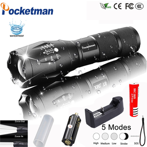 Self-defence Led Flashlight 18