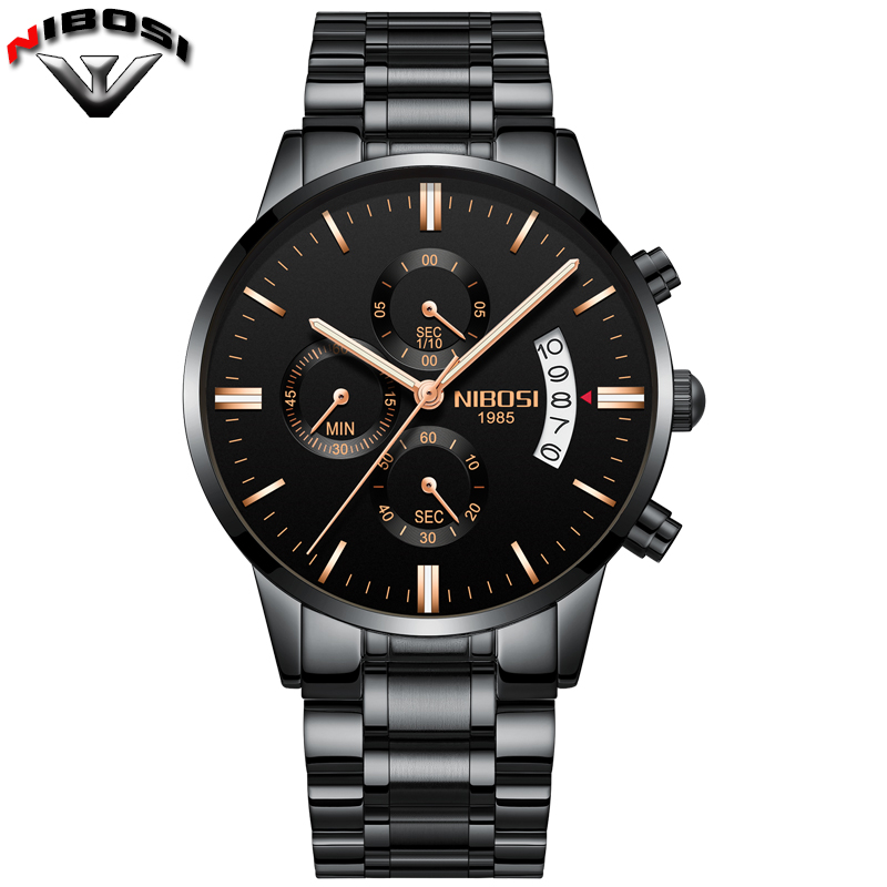 Sport Casual Quartz Watches Men Stainless Steel 30M Waterproof Luxury Male Clock Hour Time Army Military Mens Wristwatch 2309 megir watch luxury quartz men wristwatch stainless steel strap band hour time clock casual male man sport army military watches