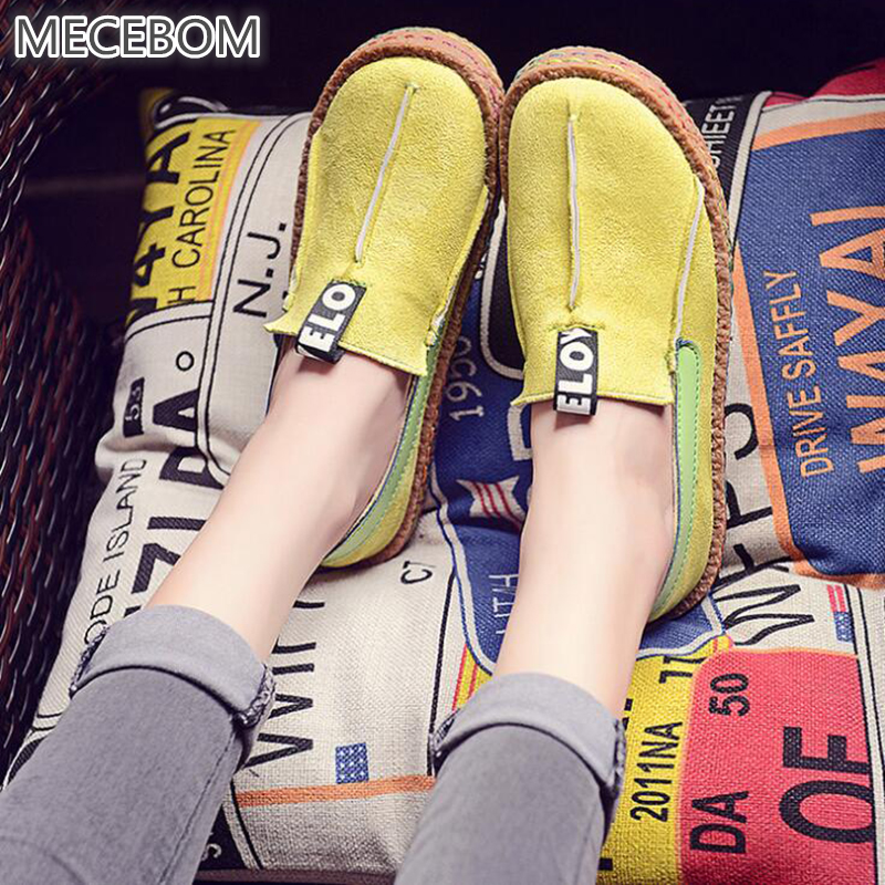 2018 Summer Handmade Footwear Leather Camping Shoes Sandal Flats Wedge Heel Footwear Loa ...