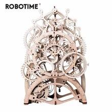 Robotime juguete 4 tipos de láser de corte de 3D modelo mecánico juego de rompecabezas de madera asamblea de peluche de juguete de regalo para niños adultos para Dropshipping. exclusivo.