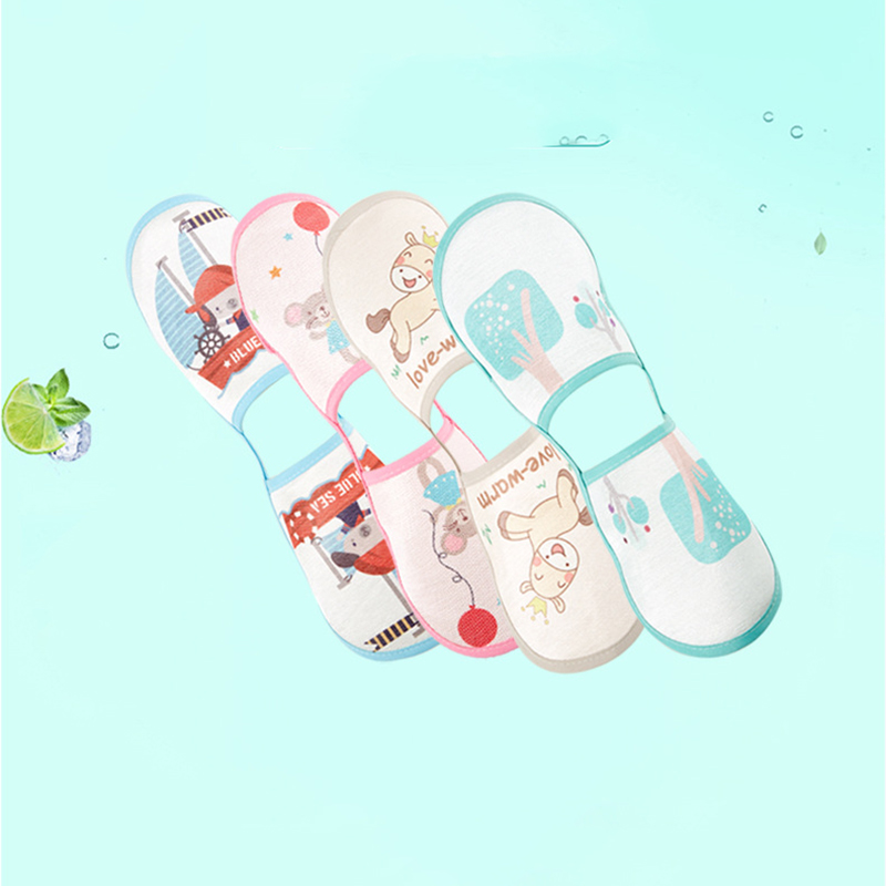 ideacherry Baby Breast Feeding Arm Mat Summer Ice Silk Newborn Breathable Nursing Anti-slip Arm Mat Infant Cartoon Sleep Pillow