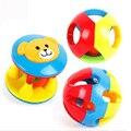 2 Pçs/set Encantador Engraçado Do Bebê Chocalhos Música De Plástico Novidade Agitação Da Mão de Bell Anel Chocalhos brinquedos Do Bebê Early Learning Brinquedos Educativos